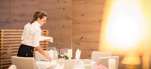 Il ristorante Riscone Petrus