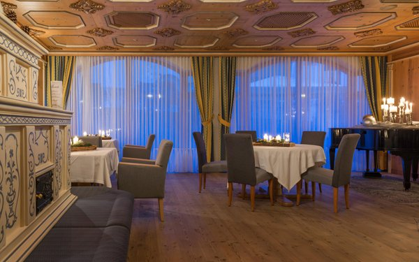 Il ristorante Riscone Schönblick