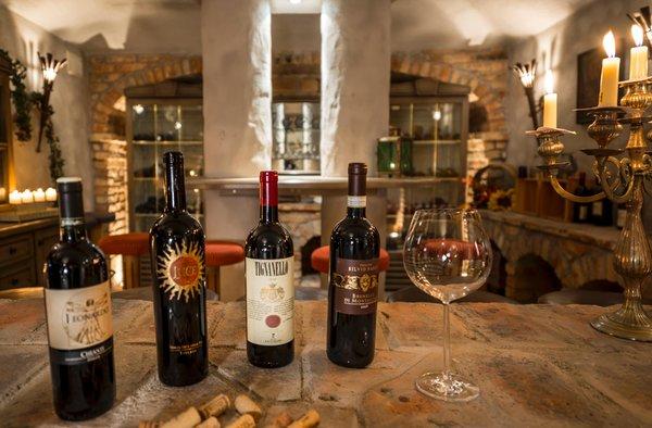 La cantina dei vini Riscone Schönblick