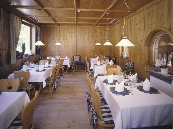The restaurant Riscone / Reischach Olympia