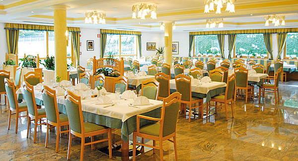 Il ristorante Riscone Olympia