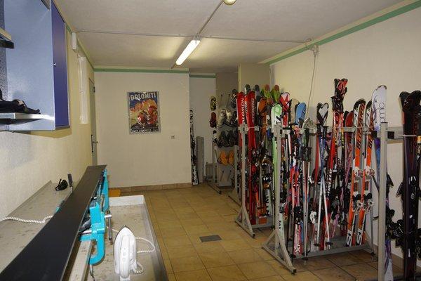 La skiroom Hotel Akelei