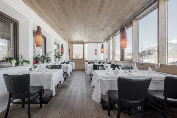The restaurant Riscone / Reischach Krondlhof