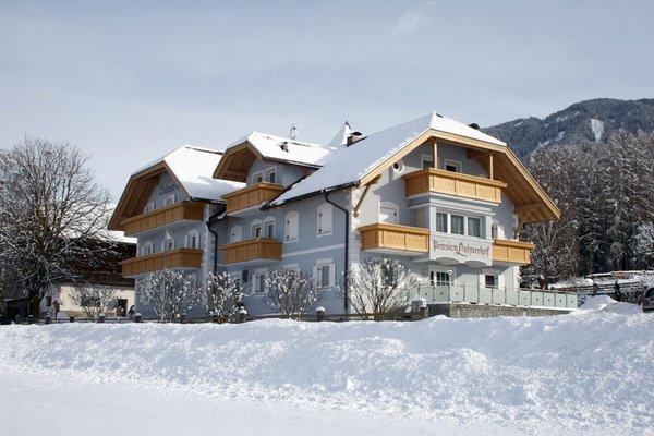 Winter Präsentationsbild Lahnerhof - Pension 3 Sterne