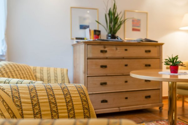 Le parti comuni Pensione + Appartamenti Prack