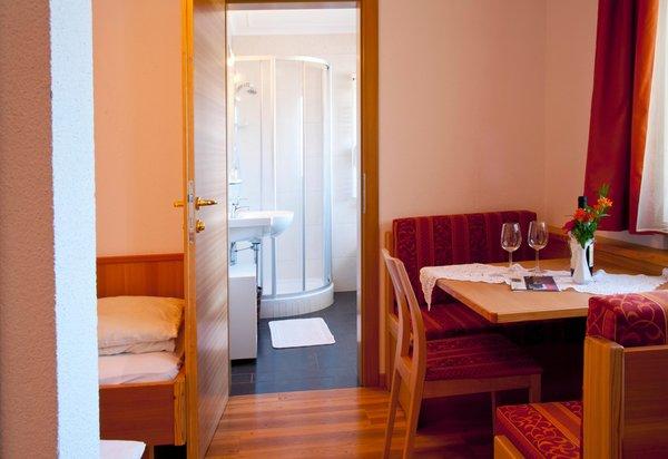 La zona giorno Tannenhof - Hotel 3 stelle