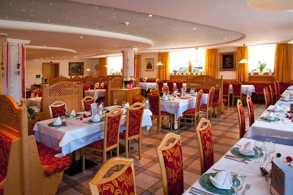 Il ristorante Riscone Tannenhof