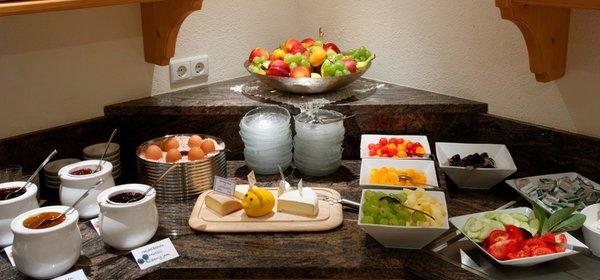 Das Frühstück Hotel Tannenhof