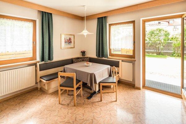 La zona giorno Garni-Hotel + Residence Clara - Garni-Hotel + Appartamenti 3 stelle