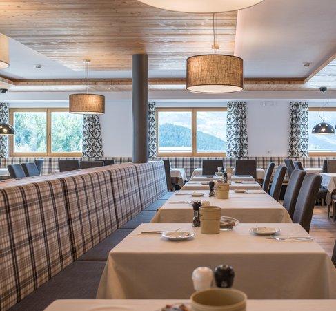 Il ristorante Riscone Hotel B&B Feldmessner