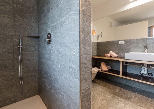 Foto del bagno Hotel B&B Feldmessner
