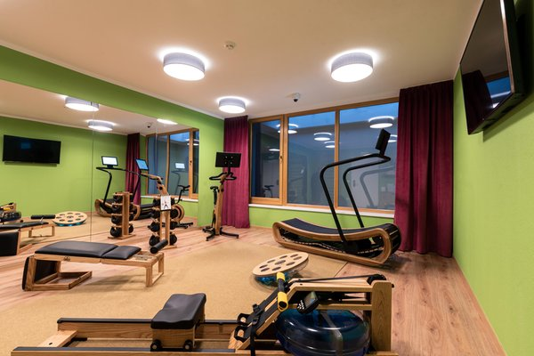 Photo of the fitness area Hotel B&B Feldmessner