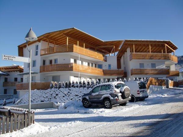 Foto invernale di presentazione Andreas II - Appartamenti 4 soli