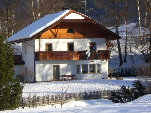 Foto invernale di presentazione Erlacher - Appartamenti 3 soli