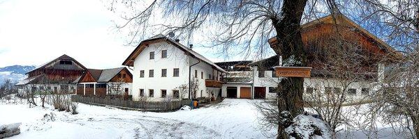 Foto Außenansicht im Winter Großflatscherhof