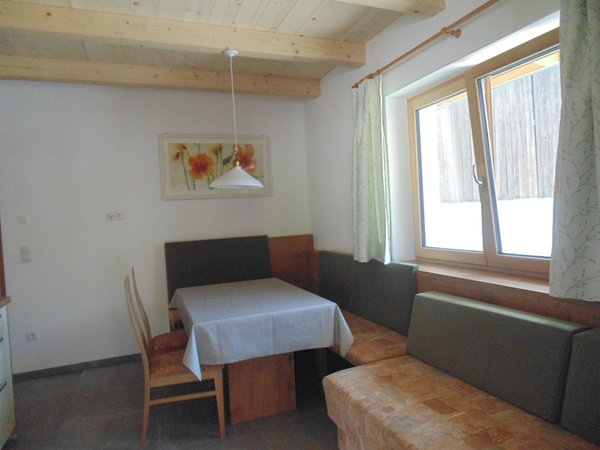 La zona giorno Großflatscherhof - Appartamenti 3 fiori