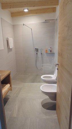 Foto del bagno Appartamenti Großflatscherhof