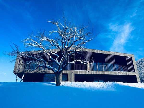 Foto invernale di presentazione naturApart - Appartamenti in agriturismo 3 fiori