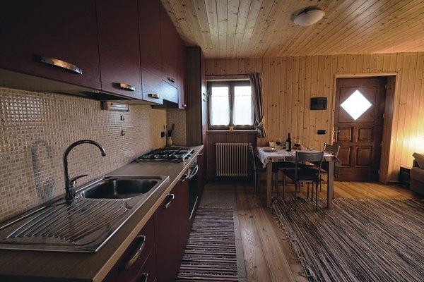 La zona giorno Edelweiss - Appartamento
