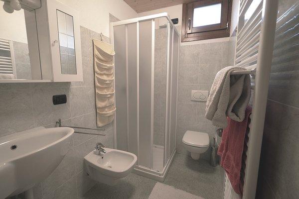 Foto del bagno Appartamento Edelweiss