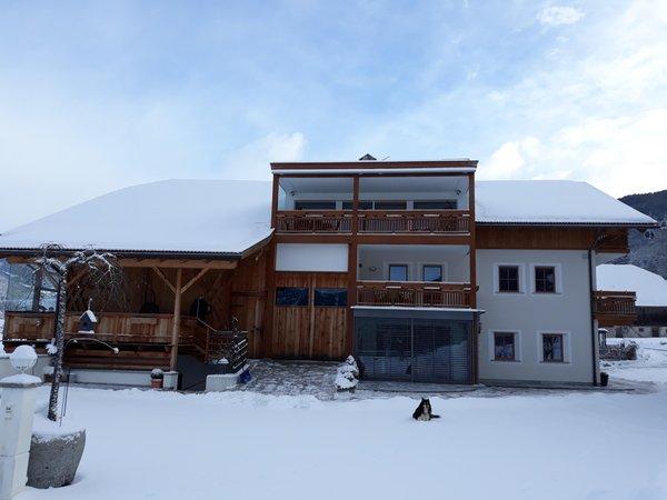 Foto invernale di presentazione Appartamenti Winklerhof