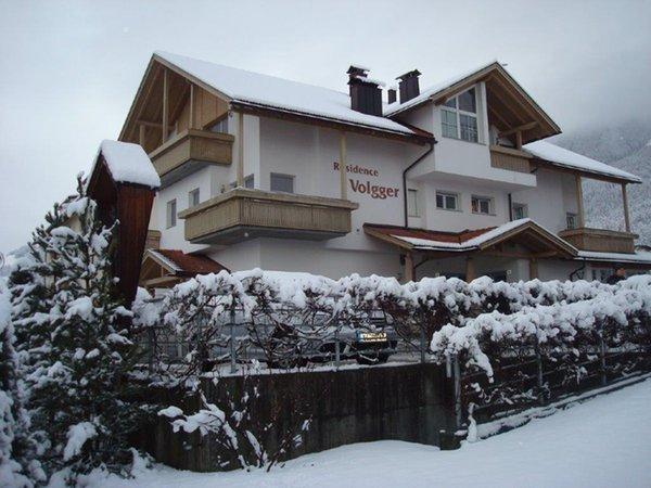 Winter Präsentationsbild Ferienwohnungen Volgger