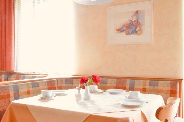 Il ristorante Riscone Haus Sandgrube