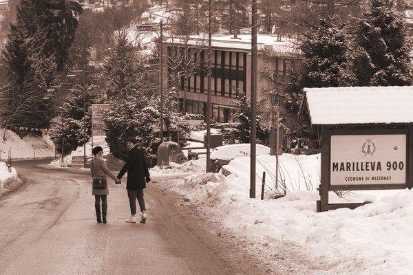 Foto esterno in inverno Lago Rotondo