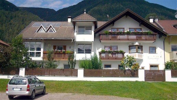 Foto estiva di presentazione Appartamenti Tamanhof