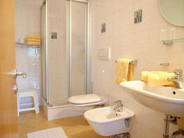 Foto del bagno Appartamenti Tamanhof