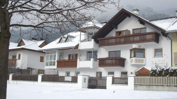 Foto invernale di presentazione Appartamenti Tamanhof