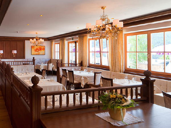 Das Restaurant Percha Waldhof