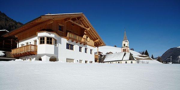 Foto esterno in inverno Costahof