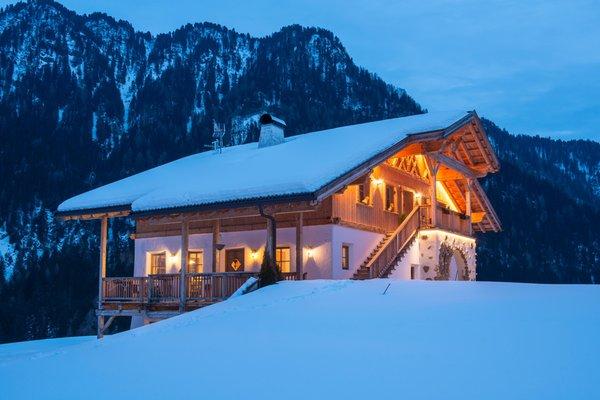 Foto invernale di presentazione Appartamenti Costahof