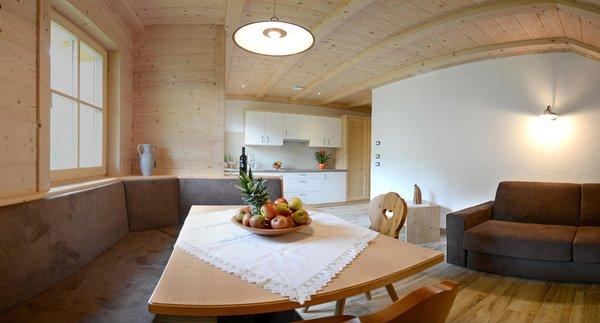 La zona giorno Costahof - Appartamenti 3 soli