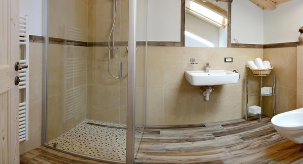 Foto del bagno Appartamenti Costahof