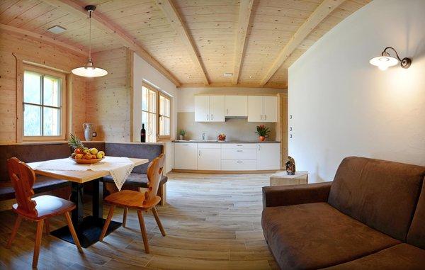 La zona giorno Appartamenti Costahof