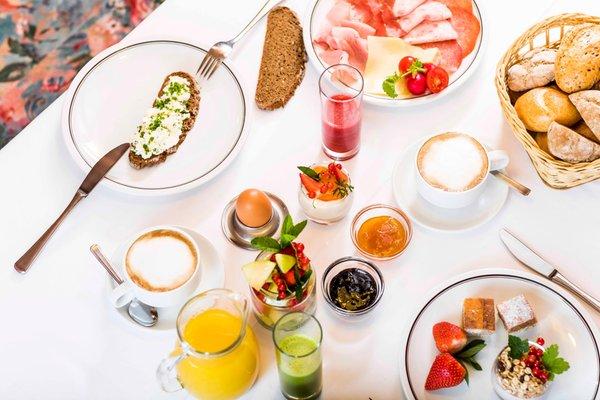 Das Frühstück Hotel Rommisa