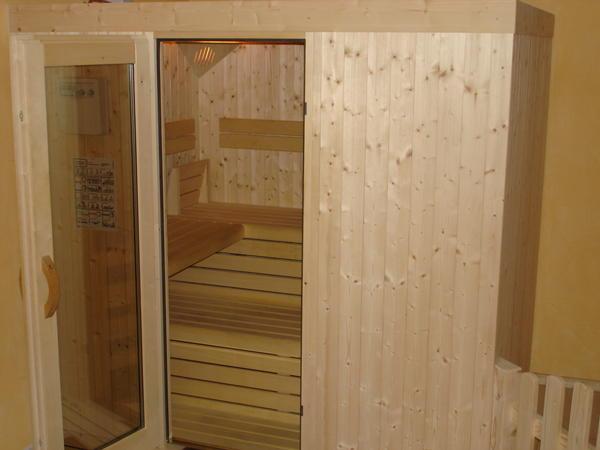 Foto della sauna Perca