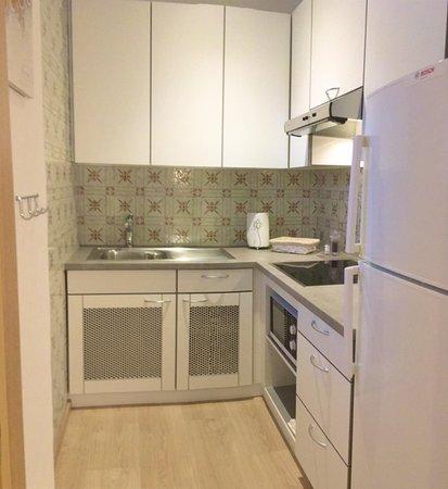Foto della cucina Cocoon Apartments