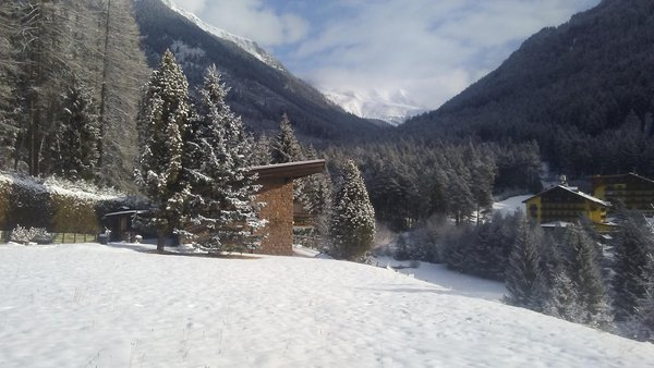 Foto invernale di presentazione Casa vacanze Cornon