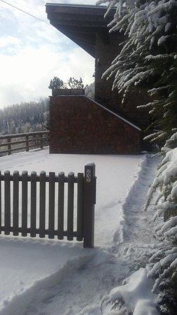 Foto esterno in inverno Cornon