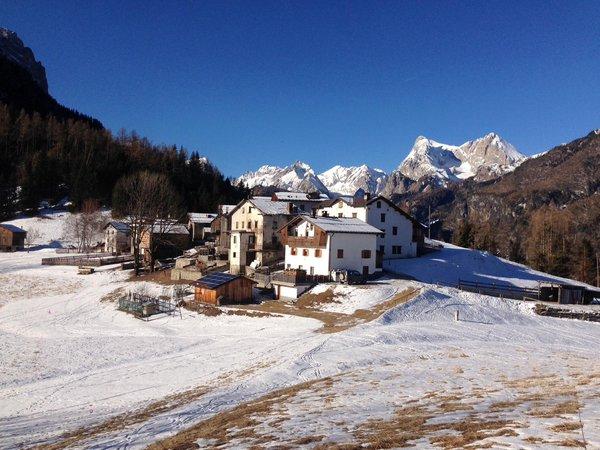Foto Außenansicht im Winter Rocca