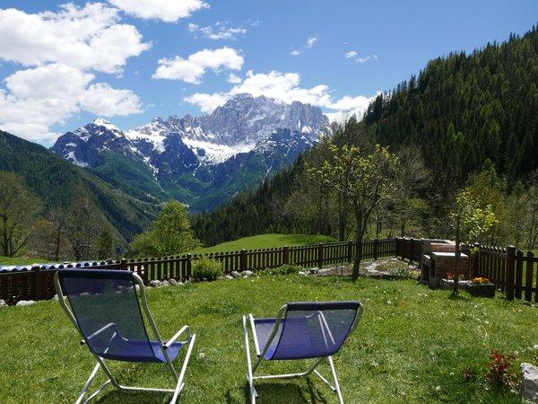 Foto vom Garten Rocca Pietore (Marmolada)