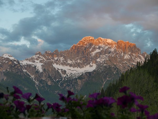 Aussicht Rocca Pietore (Marmolada)