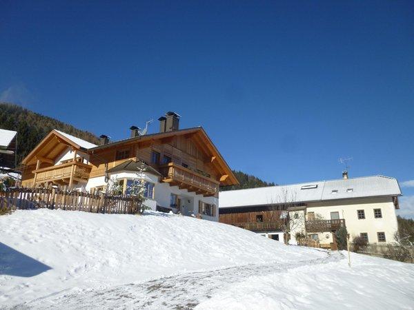Winter Präsentationsbild Ferienwohnungen Urthalerhof
