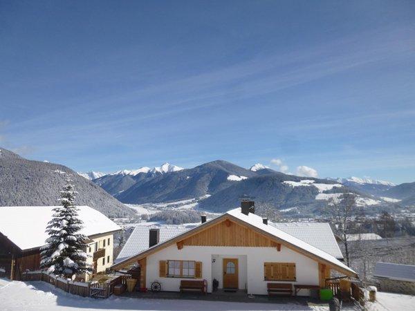 Foto esterno in inverno Urthalerhof