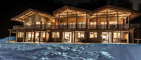 Foto invernale di presentazione Appartamenti Grunnes