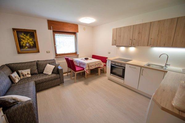 La zona giorno Cesa Bruma - Appartamenti