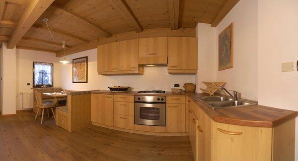 The living area Farmhouse apartments Tuene